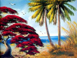Джонни Дэниелс. Пальмы