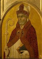 Симоне Мартини. Святой Августин