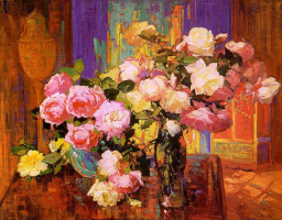 Франц Бишофф. Цветы