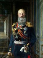 Эрнст Карлович Липгарт. Портрет великого князя Михаила Николаевича