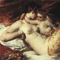 Уильям Этти. Венера и Амур