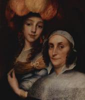 Юрген Овенс. Семейный портрет, фрагмент
