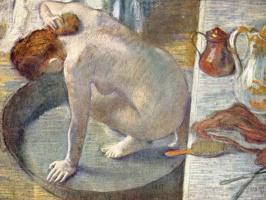 Edgar Degas. Bath