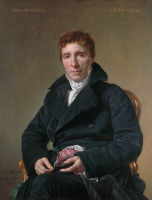 Jacques-Louis David. Portrait Of Emmanuel-Joseph Sieja