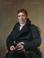 Jacques-Louis David. Portrait Of Emmanuel-Joseph Sieja