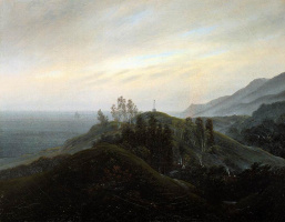Каспар Давид Фридрих. Вид на Балтийское море