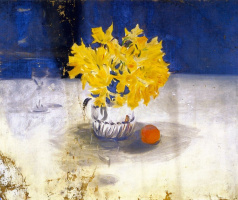 Daffodils in a vase