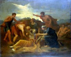 Никола Пуссен. Спасение Зенобии