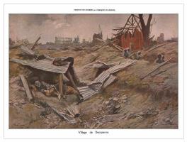 Франсуа Фламенг. Война