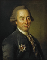 Дмитрий Григорьевич Левицкий. Портрет Петра Васильевича Бакунина Большого