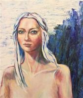 Albina Khusainova. Автопортрет