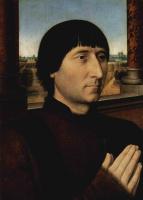 Ганс Мемлинг. Портрет Виллема Мореля, мэра Брюгге с 1478 по 1483 год