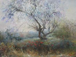 Петр Глузберг. Весна в Тель Авиве