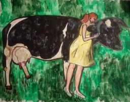 Василина Романовна Орлова. Рыжая пастушка