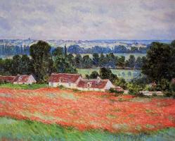 Poppy field, Giverny