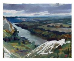 Валерий Алексеевич Васильев. Меловые горы