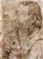 Маттиас Грюневальд. Автопортрет