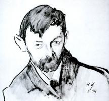Николай Павлович Ульянов. Портрет И. Кнабе