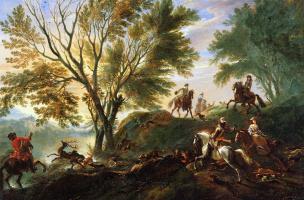 Ян Вик. Охота на оленя
