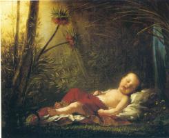 Пьер-Поль Прюдон. Спящий младенец