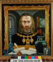Юрий Антонович Хмелецкий. Владимир Мономах Х.,м. 65х60