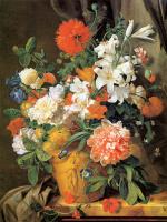 Ян ван Хейсум. Цветочный натюрморт