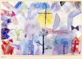 Paul Klee. Unfinished Landscape