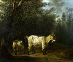 Адриан ван де Вельде. Коза и малыш