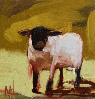 Angela Moulton. Lamb by the river