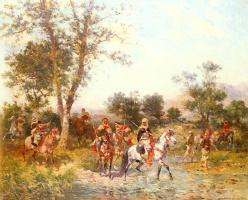 Джордж Вашингтон Уистлер. Арабские кавалеристы