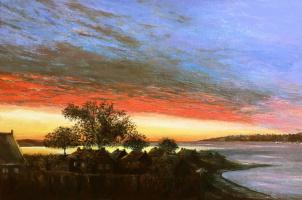 Albert Safiullin. Dawn on the Gulf of Morbihan
