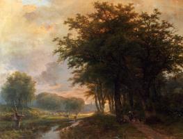 Иоганн Бернард Кломбекк. Старые деревья