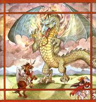 Трина Шарт Хайман. Святой Георгий и дракон 05