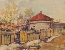 Дмитрий Иванович Архангельский. Весна. 1950-е.