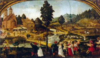 Ганс Вертингер. Сельский праздник