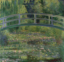 Claude Monet. Japanese bridge
