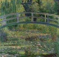 Claude Monet. Japanese bridge