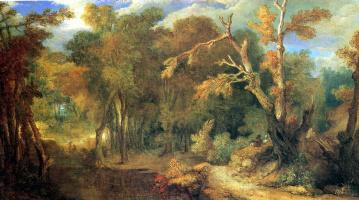 Никола де Ларжильер. Лесной пейзаж