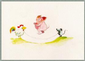 Хельме Гейне. Свинья прыгает
