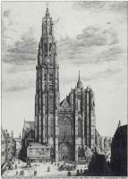 Венцель Холлар. Кафедральный собор Богоматери