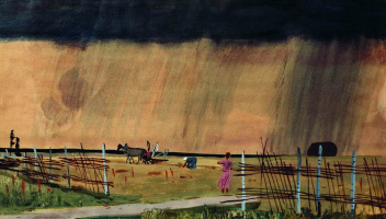 Alexander Alexandrovich Deineka. The storm comes in. Rain