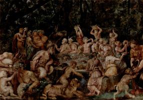 Taddeo Tsukkari. Orgy. Fragment
