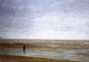 James Abbot McNeill Whistler. Sea and rain: Variations in violet and green