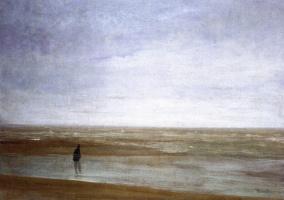 Джеймс Эббот Макнейл Уистлер. Море и дождь: Вариации в фиолетовом и зеленом