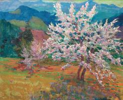 Nikolay Glushchenko. Spring in the Carpathians