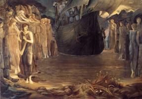 Edward Coley Burne-Jones. The Sirens