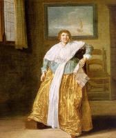 Дирк Халс. Портрет женщины