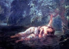 Ophelia's Death