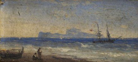 Ivan Aivazovsky. Pacific coast