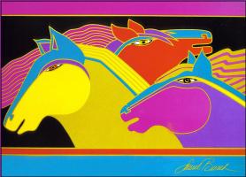 Лорел Берч. Сказочные лошади01